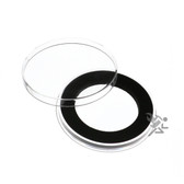 Y45mm Black Ring Air-Tite Brand Coin Capsule Holders