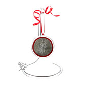 """5.5"""" Clear Acrylic Ornament Display Stand"""
