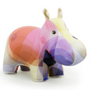 Zuny Classic Hippo Kaleidoscope Bubble - Pink/Yellow