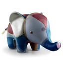 Zuny Classic Elephant Kaleidoscope Bubble - Brown/Blue