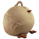 Zuny Small Pica Beanbag Cover - Wheat/Copper