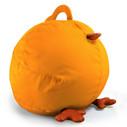 Zuny Medium Pica Beanbag Cover - Yellow/Tan