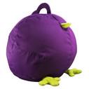 Zuny Medium Pica Beanbag Cover - Purple/Green