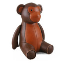 Classic Monkey Bookend - Brown