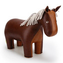 Classic Horse Bookend - Brown