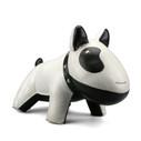 Zuny Classic Dog Bookend - White