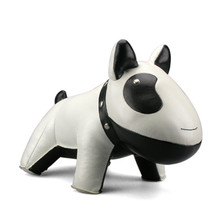 Zuny Classic Dog Bookend - White