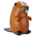 Classic Beaver Bookend - Tan