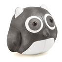 Cicci Owl Bookend - Chrome