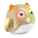Cicci Owl Bookend - Gold/Green/Pink/Orange