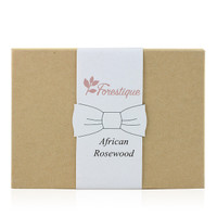 Bow tie gift box closed