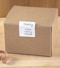 Recycled Paper Gift Box