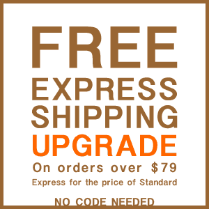 Free express shipping upgrade