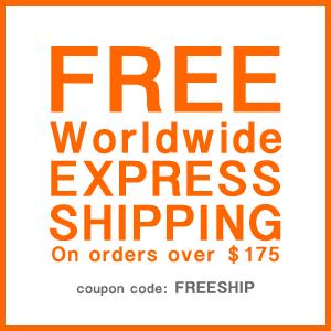 free worldwide express shipping