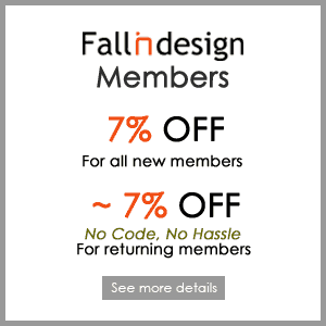 Special offers for fallindesign members
