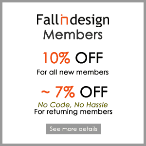 Special offer for fallindesign members