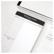 The daily Times notepad