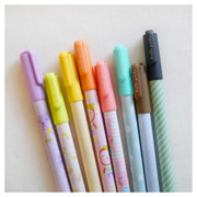 Hellogeeks pattern color gel pen 0.35mm set
