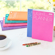 Light dated planner