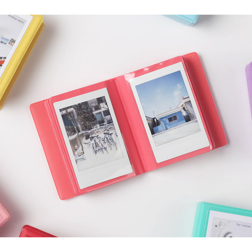 2nul instax mini polaroid small photo album. Black Bedroom Furniture Sets. Home Design Ideas