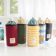 Insulated waterproof bottle holder pouch ver.2