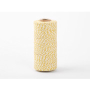 Roll Twine cotton string - Deep yellow