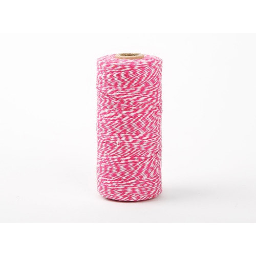 Roll Twine cotton string - Hot pink