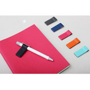 Link the mind Two tone magnetic pen holder