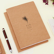2015 Eco kraft dated monthly large planner