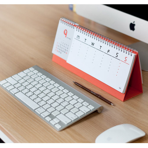 2015 Jstory Mr Babba Wirebound Calendar Desk Planner