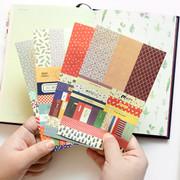 Petit deco paper sticker set 8 sheets ver.4
