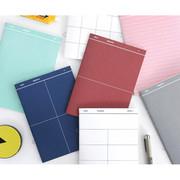 Grid series undated planner scheduler note