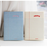 Lined notebook undated diary