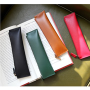 The basic handmade leather pencil case ver.2