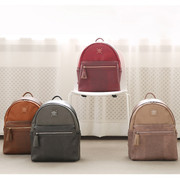 Harmony mix match leather backpack
