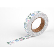Deco fabric tape single - unaffected pink