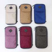 Travel smart zip around pouch bag