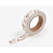 fabric tape single - First love flower