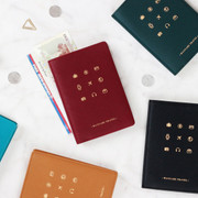 Wannabe pictogram travel RFID blocking passport case