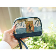 Navy color Smart mini handbag