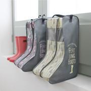 Pastel scandic flat long boots storage bag
