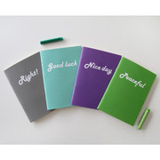 Second mansion monthly small notebook