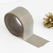 Pattern adhesive reform tape - Herringbone