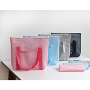 travel mesh tote bag pouch