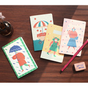 Breezy day small lined notebook