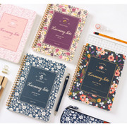 Pour vous harmony wirebound lined notebook