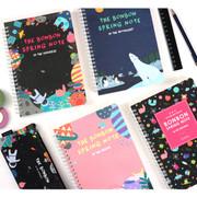 Bon Bon wirebound lined notebook