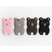 Monowave cute bear iPhone 6 6S silicone case