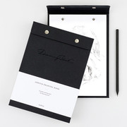 Simple and basic A5 drawing paper pad
