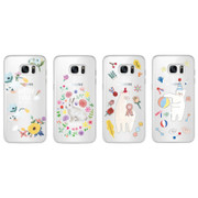 Rim TPU soft galaxy S7 smartphone case